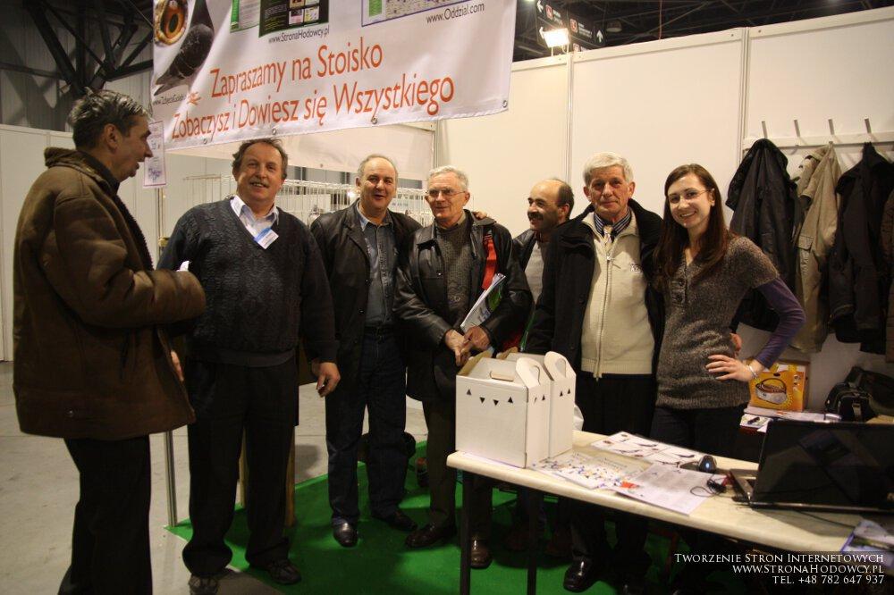 Od prawej: Monika Górniaczyk, Prezez Okręgu Zielona Góra - Zbigniew Moskalik, Władysław Wołoszyn, Marek Kościelniak, Krzysztof Korzeniewski, Jan Górski