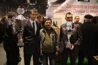 Od lewej: Przemysław Niedbalski, Henryk Zamróz, Daniel Kałużny