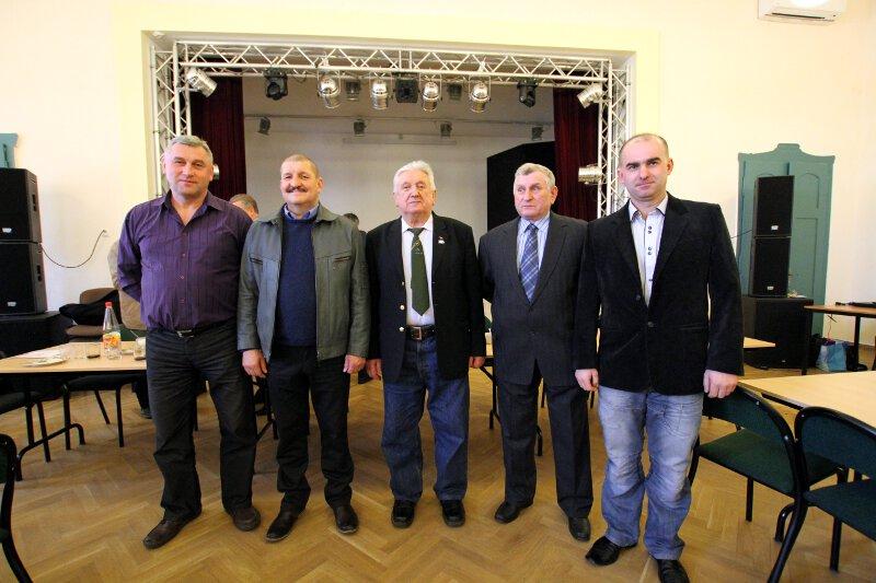 Komisja Dyscyplinarna Okręgu Zielona Góra PZHGP na kadencję 2015-2018.