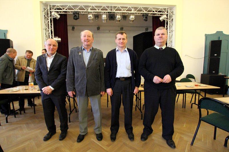 Komisja Rewizyjna Okręgu Zielona Góra PZHGP na kadencję 2015-2018.