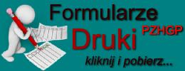 Druki i formularze PZHGP - do edycji lub druku i ręcznego wypisania